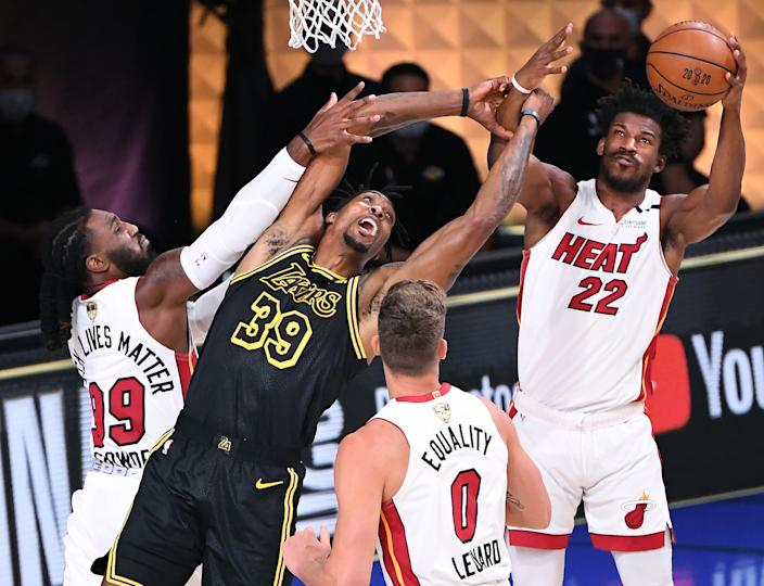10 Photos From The Lakers Game 2 Win Over The Heat In The Nba Finals
