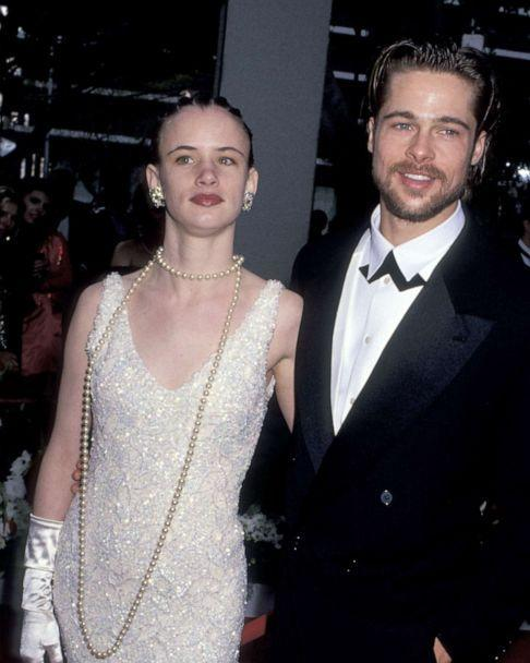 PHOTO: Juliette Lewis and Brad Pitt at the Dorothy Chandler Pavilion in Los Angeles, California (Photo by Ron Galella/Ron Galella Collection via Getty Images) (Ron Galella Collection via Getty)