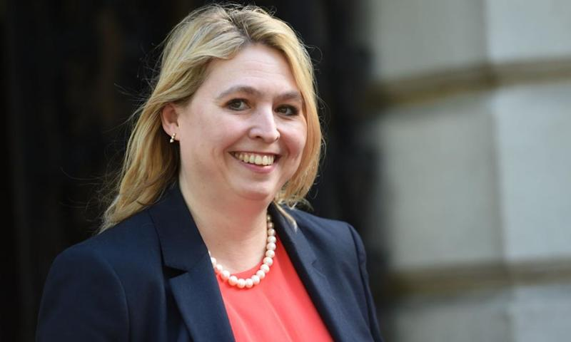 The culture secretary, Karen Bradley