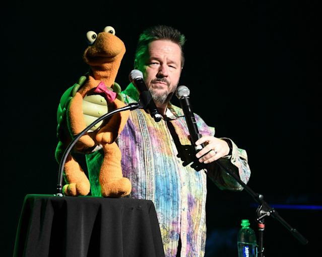 <p>No. 8: Terry Fator<br>Another ventriloquist and puppeteer, this one hails from Texas and has a lucrative residency at The Mirage in Las Vegas, putting his earnings at <strong>$18.5 million</strong>. (Canadian Press) </p>