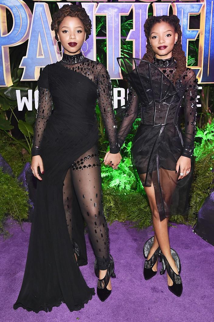 """<h1 class=""""title"""">Chloe and Halle Bailey</h1> <cite class=""""credit"""">By Alberto E. Rodriguez/Getty Images.</cite>"""