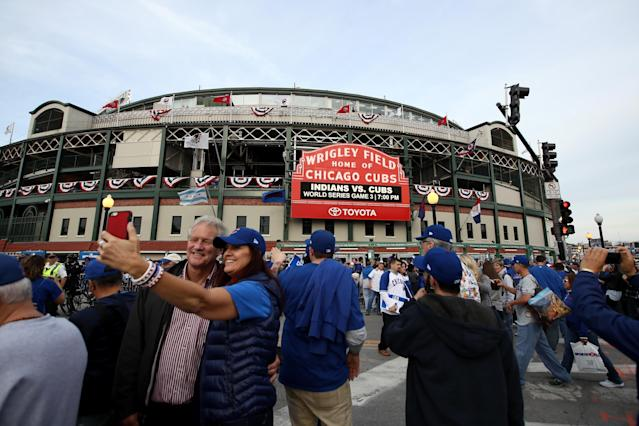 "The <a class=""link rapid-noclick-resp"" href=""/mlb/teams/chc"" data-ylk=""slk:Chicago Cubs"">Chicago Cubs</a> are offering 60 tickets for just $10 for all 81 home game this season, but fans will have to play the lottery to get them. (Photo by Ezra Shaw/Getty Images)"