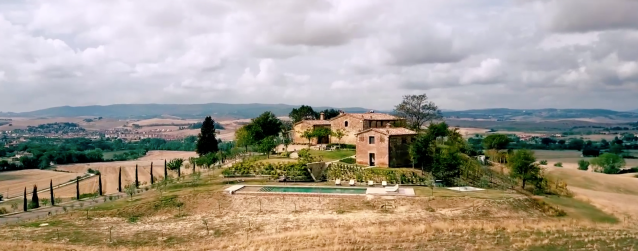 Another Airbnb Beyond listing includes this unspecified picturesque, far-flung villa from the glossy, high-budget YouTube trailer Airbnb released on Thursday. Source: Airbnb