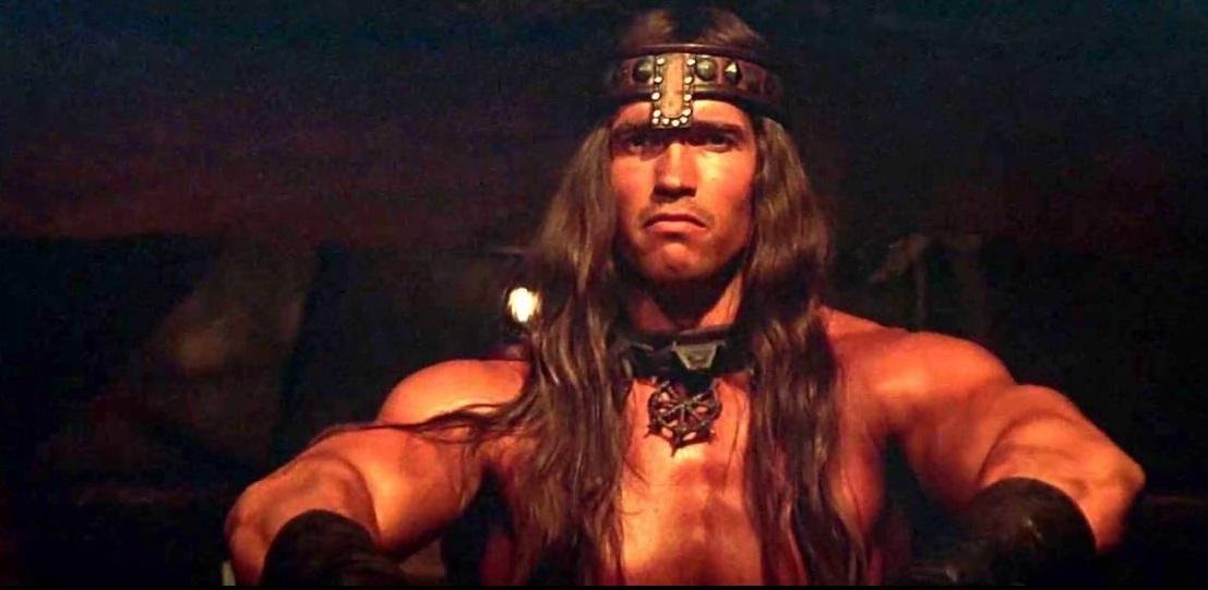 """<p>Schwarzenegger's first major leading role as Robert E Howard's iconic adventurer proved that he had the chops to headline an all-action epic. It also gave him a killer of an opening line: having not said a word for his first 20 minutes of screen time, Conan is asked, """"what is best in life?"""" To which he replies, """"Crush your enemies, see them driven before you, and hear the lamentations of their women."""" (Picture credit: 20th Century Fox) </p>"""