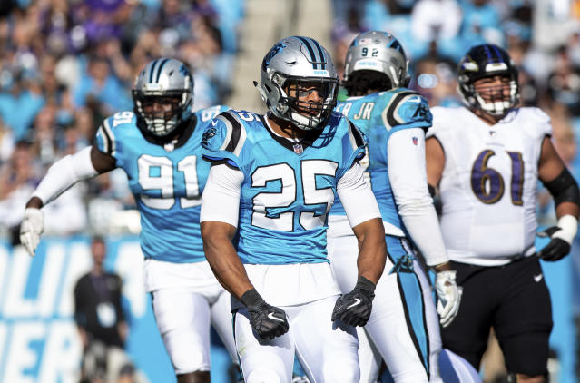 The NFL and NFLPA announced on Tuesday that the Panthers' Eric Reid was not targeted for multiple drug tests. (AP)
