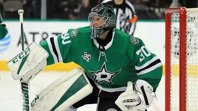 Goaltender Ben Bishop is set for another spell on the sidelines in a blow to the Dallas Stars.