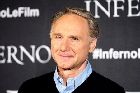 "Writer Dan Brown attends a photocall to promote the film ""Inferno"" in Paris"