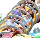 <p>Busy Philipps and Marc Silverstein spend a day date at Disney World in Florida on June 22.</p>