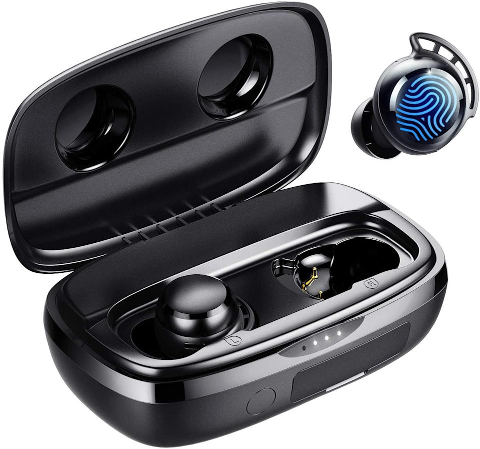 Save 45% on the Tribit Flybuds 3 Wireless Earbuds. Image via Amazon.