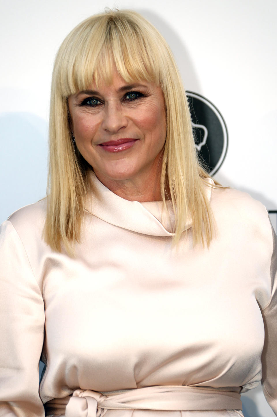 72nd Cannes Film Festival - The amfAR's Cinema Against AIDS 2019 event - Antibes, France, May 23, 2019. Patricia Arquette poses. REUTERS/Eric Gaillard