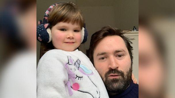 PHOTO: Tom Rosenthal and his daughter Fenn, from London, England, went viral after writing 'Dinosaurs in Love,' which takes the listener on a magical minute-long journey inside the mind of a toddler. (Tom Rosenthal)