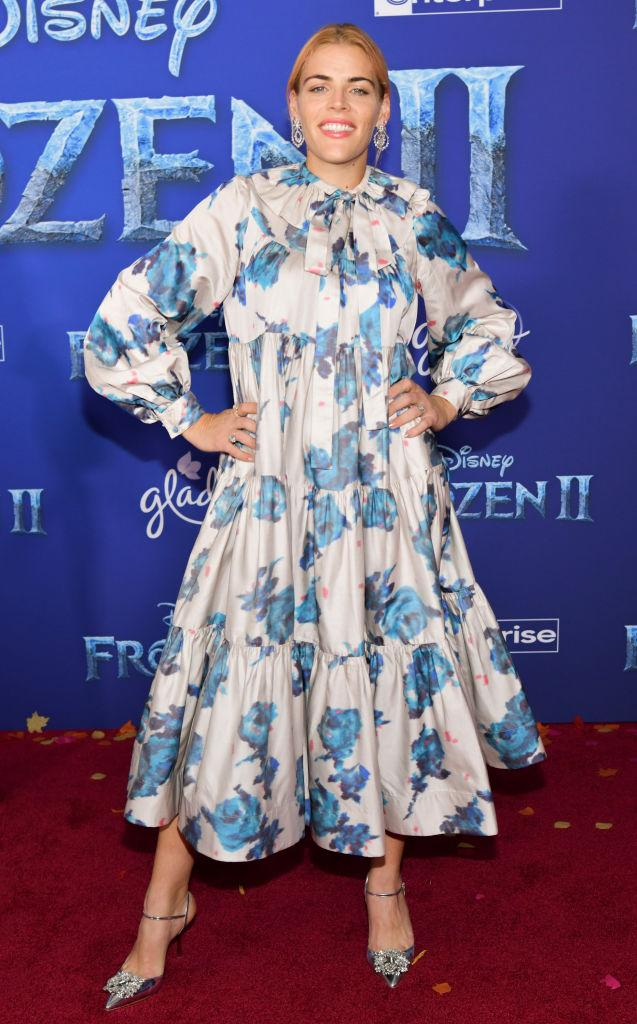 Busy Philipps attends the Premiere of 'Frozen 2'. [Photo: Getty]