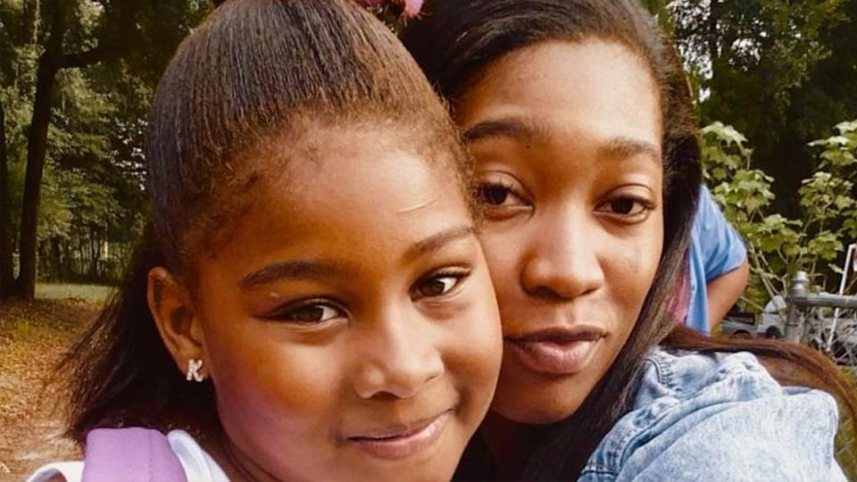 Mikasha Young-Holmes' pictured with her only daughter Kimora 'Kimmie' Lynum who died on coronavirus.