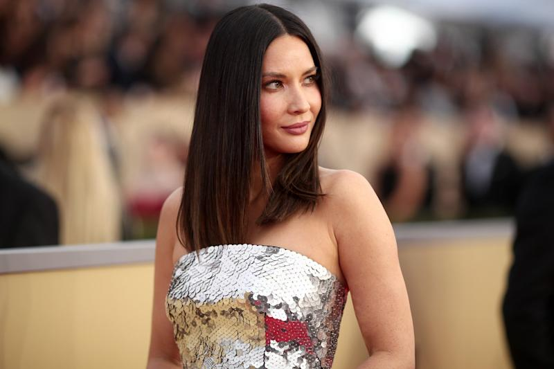 Olivia Munn set the record straight on Chris Pratt rumours: Christopher Polk/Getty