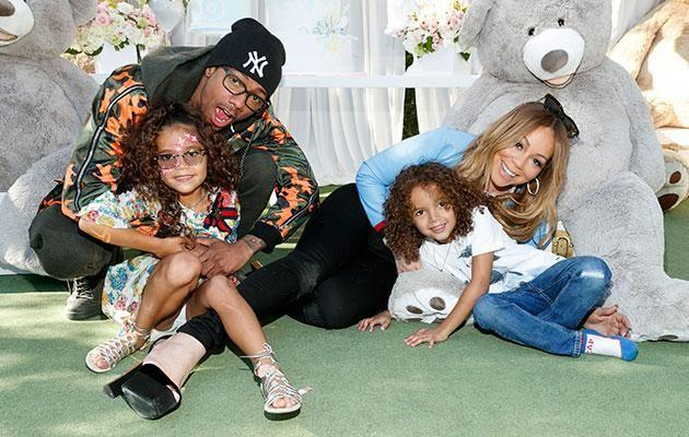 Mariah and ex Nick cannon share twins Monroe and Moroccan. Source: Getty