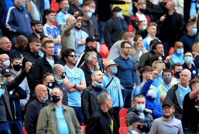 Manchester City will have 6,000 supporters at the final