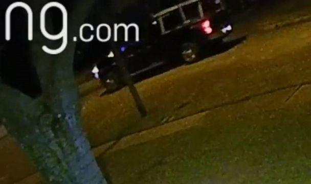 PHOTO: An image made from video released by the Fort Bend County Sheriff's Office shows what they say is a vehicle involved in an arson attack on the home of a sergeant with the Fort Bend County Sheriff's Office Criminal Investigation Unit. (Fort Bend County Sheriff)