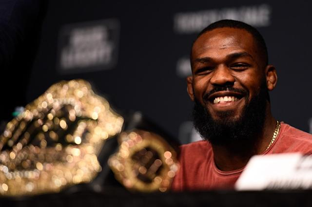 Despite his personal issues, Jon Jones is still the GOAT in UFC. (Getty Images)