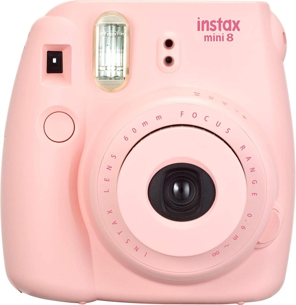 <p>This <span>Fujifilm Instax Mini 8 Instant Camera</span> ($52) is a genius gift.</p>