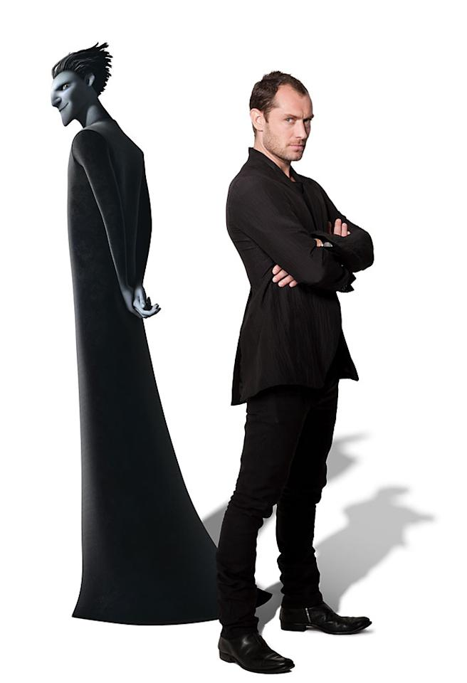 "Jude Law as Pitch in DreamWorks' ""Rise of the Guardians"" - 2012"