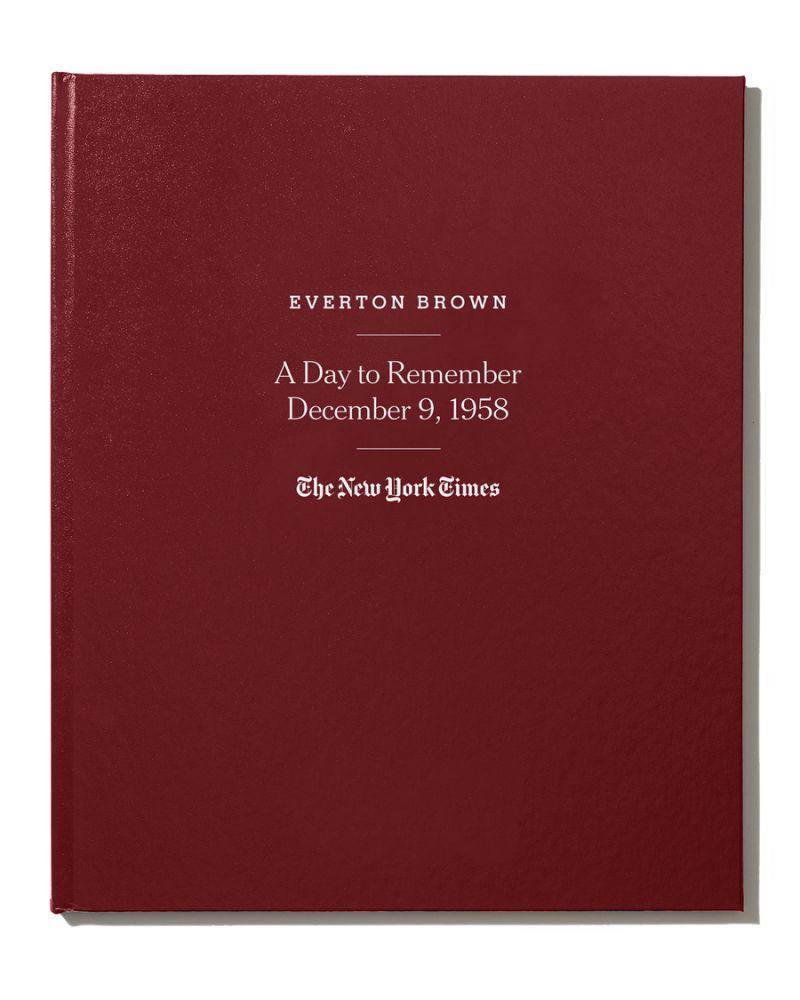 New York Times Special Day Book (Credit: Neiman Marcus)