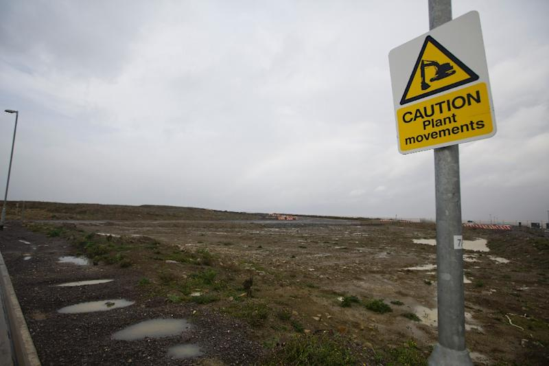 The site in western England where EDF proposes to build the Hinkley Point C nuclear power plant (AFP Photo/Justin Tallis)