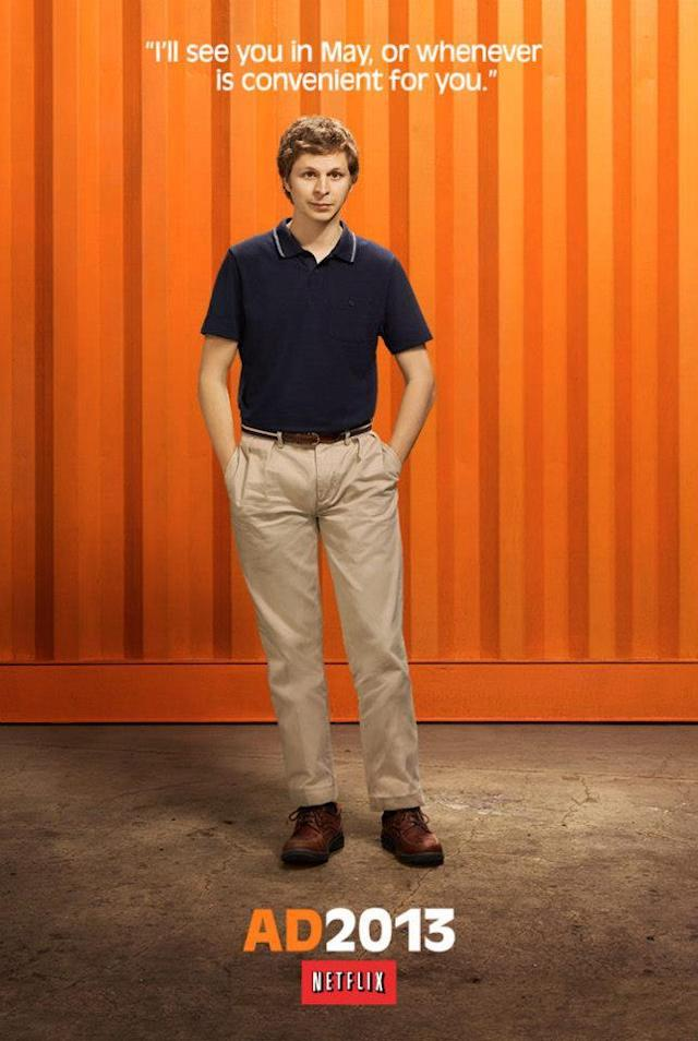 "Michael Cera as George-Michael Bluth on ""Arrested Development"" Season 4."