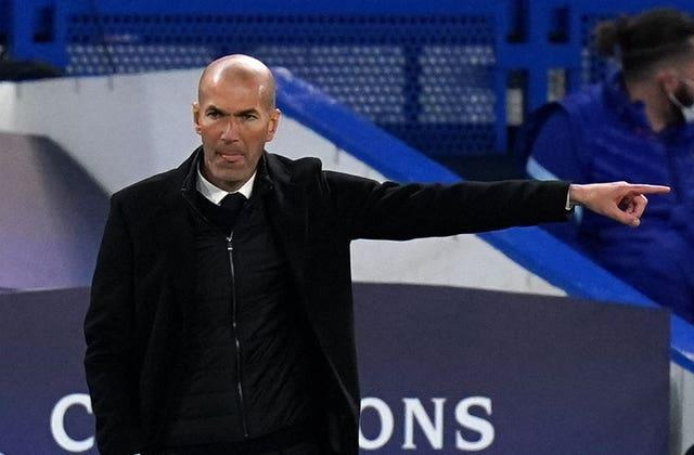 Zidane's side lost 3-1 on aggregate to Chelsea in the Champions League semi-final earlier this month, losing 2-0 at Stamford Bridge