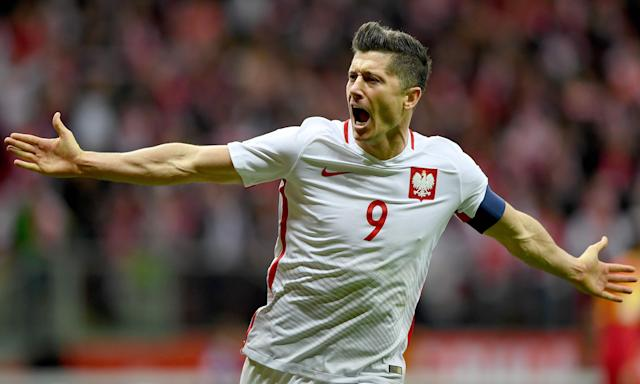 Pole position: The Poland side qualified comfortably