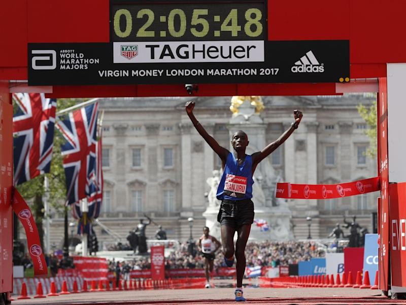 Wanjiru held off the challenge of Bekele (Getty)