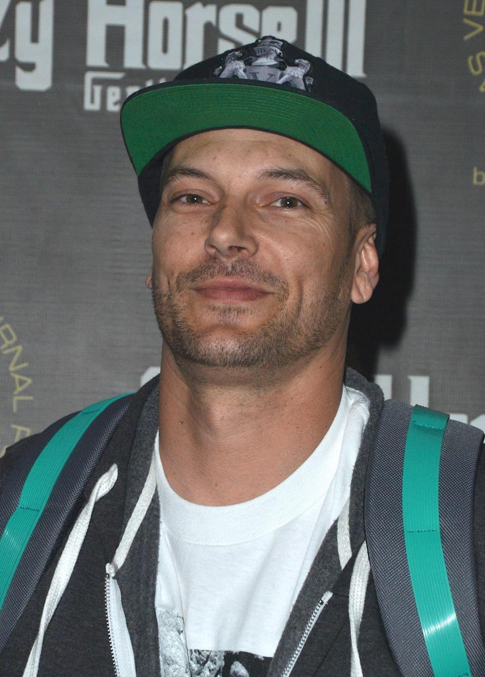 Kevin Federline arrives at the Crazy Horse III Gentlemen's Club to celebrate his birthday on March 12, 2016 in Las Vegas, Nevada