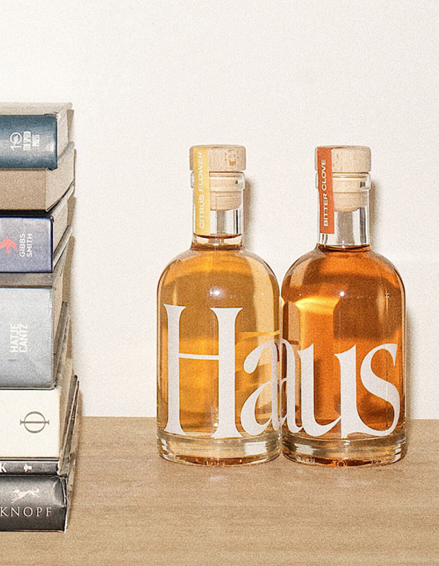"Spice up the experimental drinker (or wine lover's) bar cart with <a href=""https://www.glamour.com/story/haus-aperitif-review?mbid=synd_yahoo_rss"" rel=""nofollow noopener"" target=""_blank"" data-ylk=""slk:Haus apéritif"" class=""link rapid-noclick-resp"">Haus apéritif</a>, the California-made, family-owned, low-ABV beverage that's divine on the rocks or mixed with fruit juice and soda. $30, Haus. <a href=""https://drink.haus/products/haus-starter-kit"" rel=""nofollow noopener"" target=""_blank"" data-ylk=""slk:Get it now!"" class=""link rapid-noclick-resp"">Get it now!</a>"