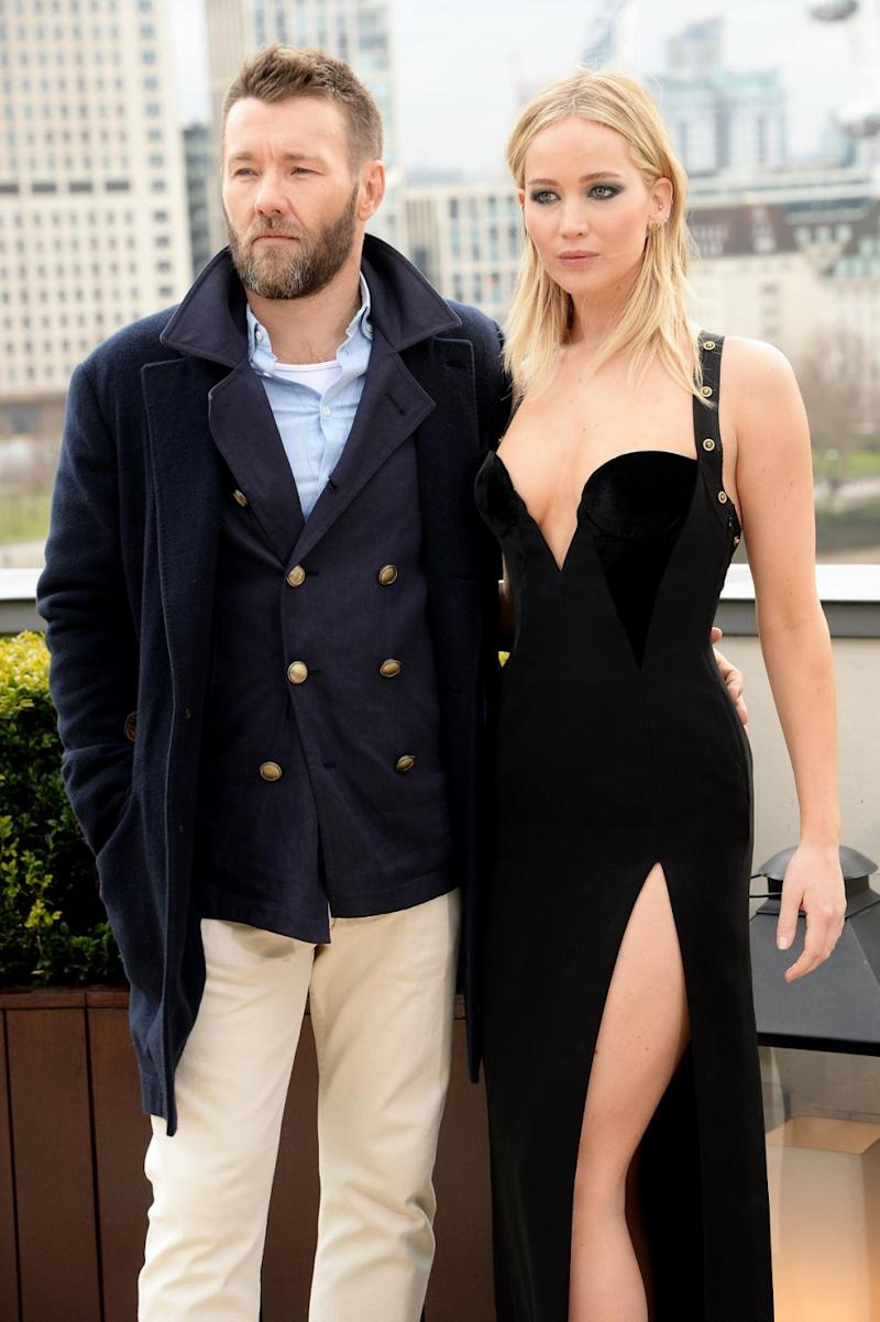 Joel admitted he couldn't quite believe the stir Jen's dressed caused. Source: Getty