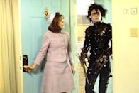 """<p>Fantastical and romantic, 'Edward Scissorhands' is Tim Burton's modernized Frankenstein story that imagines an artificial man who inspires — and sometimes irritates — a sleepy suburb. If you're wondering how Johnny Depp developed the doe-eyed, largely non-verbal character, screenwriter Caroline Thompson has the answer. """"You're based on my dog,"""" she recalled telling the actor on the film's Florida set. """"He was very confused about his role,"""" she revealed.</p>"""