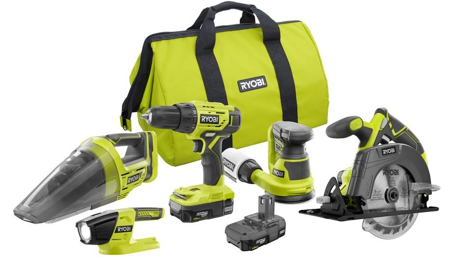 Ryobi 18V 5-Piece Starter Set - The Home Depot Canada, $199