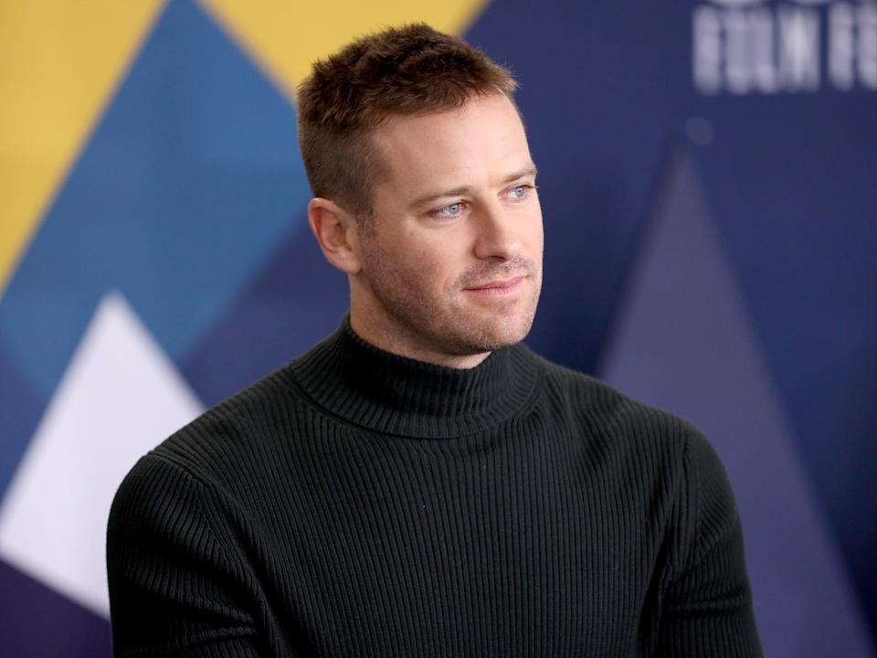 <p>Armie Hammer has reportedly checked into a treatment center for 'drug, alcohol and sex issues'</p> (Getty Images for IMDb)