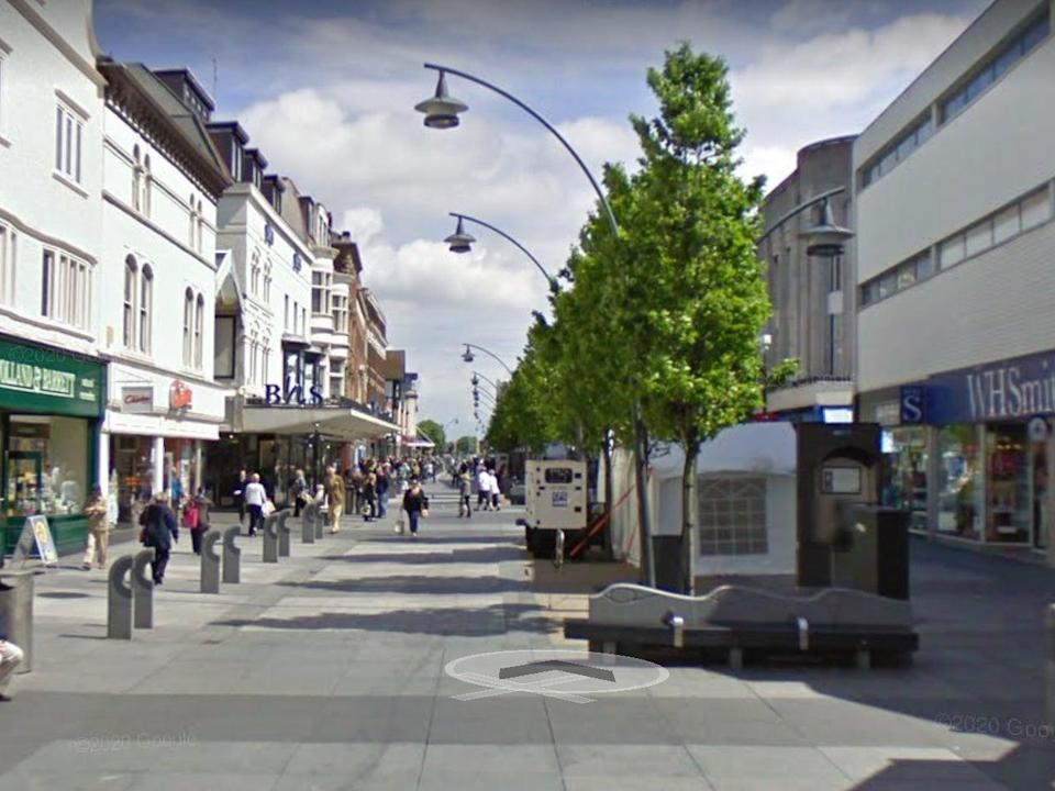 The ATM was in Chapel Street, Southport (Google Maps)