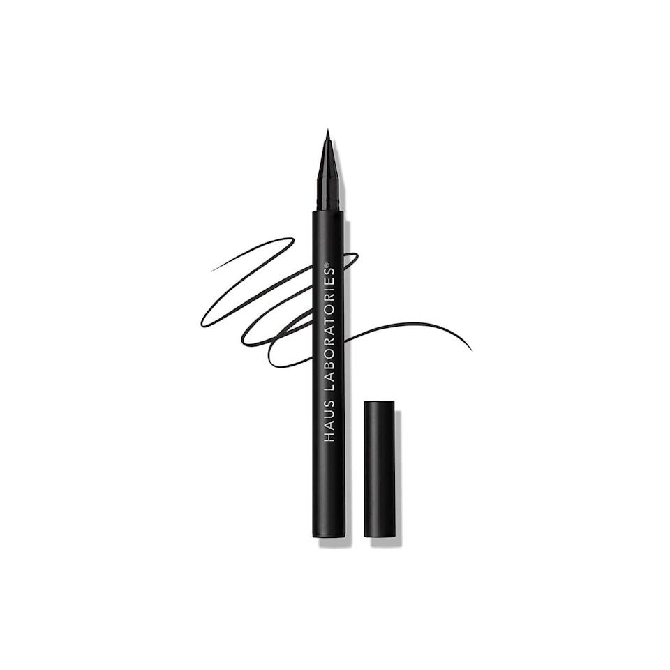 <p>Whether you like to wing it or get creative with graphic styles, the <span>Haus Laboratories Liquid Eye-Lie-Ner</span> ($14, originally $18) is a must-have in your arsenal. It's long-lasting, smudgeproof, and has a precise tip. </p>