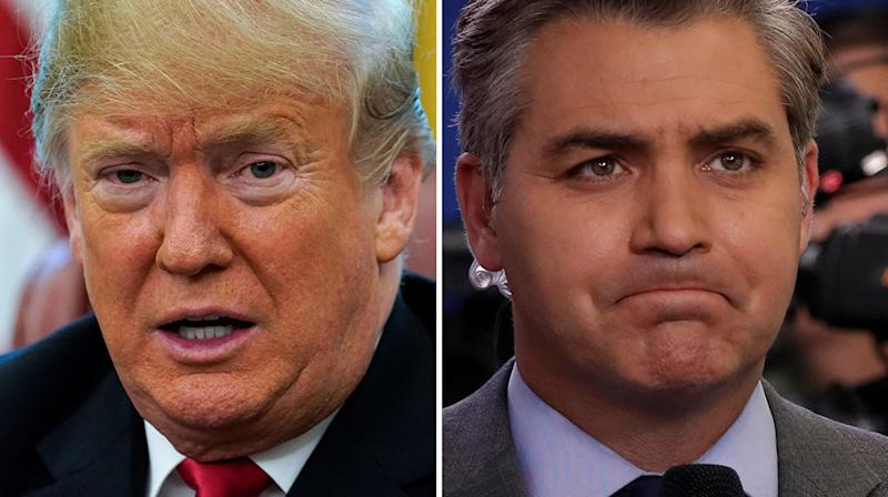 Donald Trump Promoted His Rally With A Photo He May Have Lifted From CNN's Jim Acosta