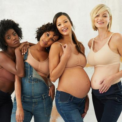 """Motherhood Maternity® Introduces Shades of """"Nu Nudes"""" in Customer-Favorite Seamless Maternity and Nursing Bras"""