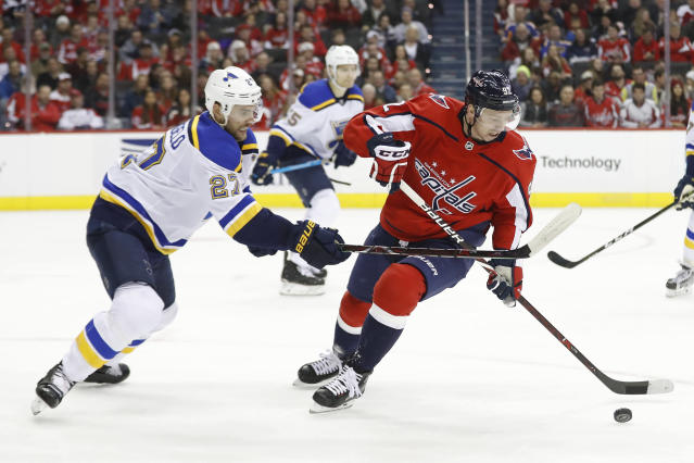 The Capitals' preseason schedule was released featuring matchups against the Stanley Cup champion St. Louise Blues and a Carolina Hurricanes team that eliminated Washington in the playoffs.