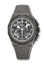 """<p>zenith-watches.com</p><p><strong>$18000.00</strong></p><p><a href=""""https://www.zenith-watches.com/en_us/product/defy-extreme-97-9100-9004-02-i001"""" rel=""""nofollow noopener"""" target=""""_blank"""" data-ylk=""""slk:Shop Now"""" class=""""link rapid-noclick-resp"""">Shop Now</a></p><p>A rugged titanium case and bracelet makes this watch perfect for the outdoorsman who likes to keep things sleek. The best part? Swap from a bracelet to the included rubber strap with the push of a button. </p><p>Case size: 45mm</p>"""