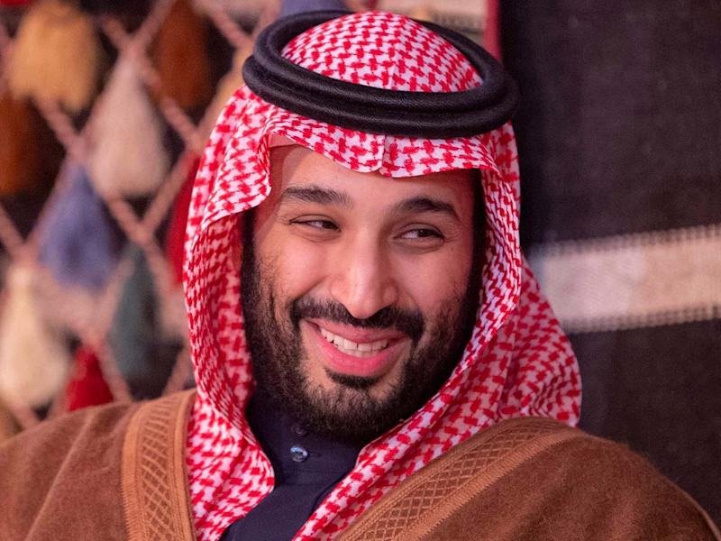 A handout picture provided by the Saudi Royal Palace on January 12, 2020: AFP via Getty Images