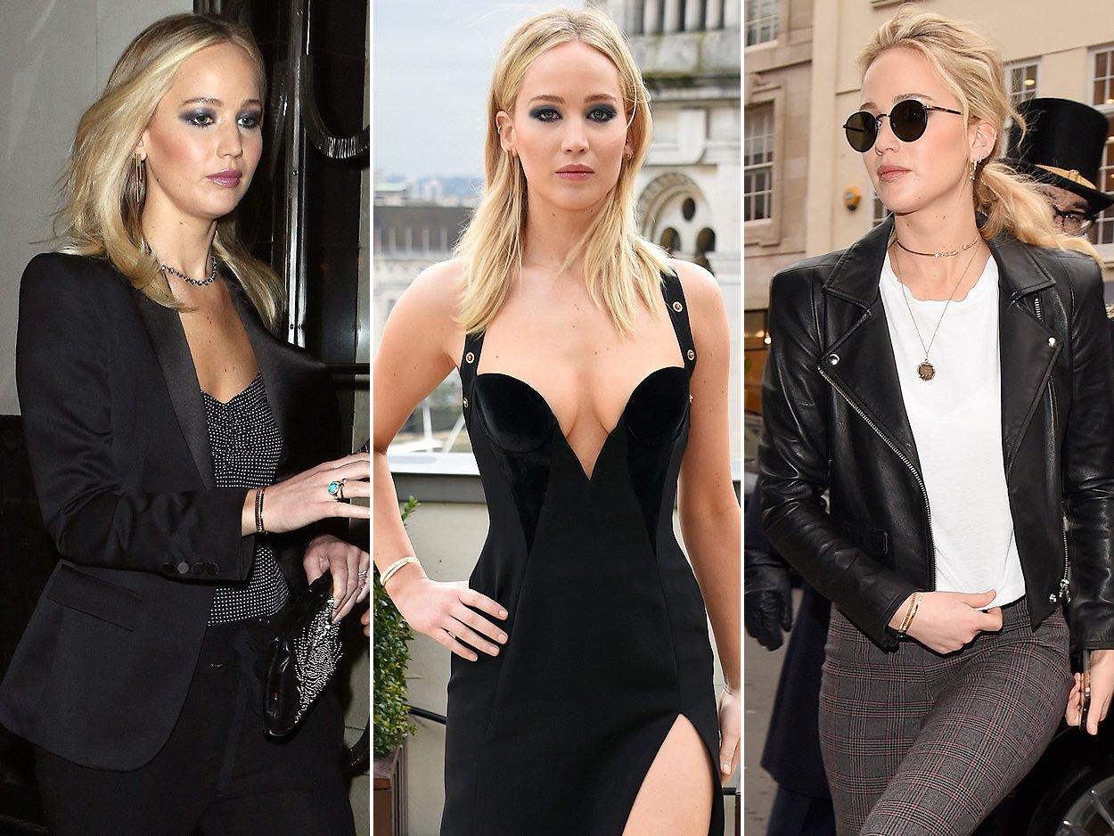 "Jennifer Lawrence <a href=""http://people.com/style/jennifer-lawrence-weekend-outfits-four-looks/"">constantly changed her outfits</a> during her whirlwind media tour for <i>Red Sparrow</i>, but kept this diamond-accented cuff a constant.   <b>Look for Less: </b>Sam Edelman twisted rope cuff bracelet, $55; <a href=""https://www.amazon.com/gp/product/B0148GRZRW/ref=as_li_qf_asin_il_tl?ie=UTF8&tag=fans0e-20&creative=9325&linkCode=as2&creativeASIN=B0148GRZRW&linkId=513499751c758294ab9f27d9ab7c4423"">amazon.com</a>"