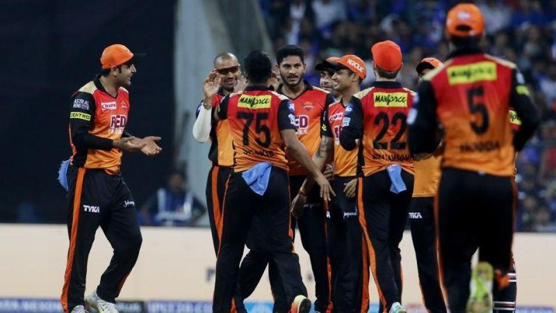 SRH won against Mumbai Indians