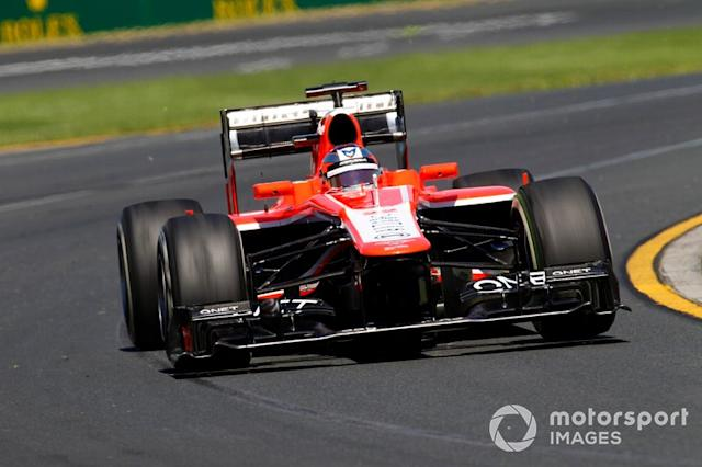 """Jules Bianchi, Marussia MR02 <span class=""""copyright"""">Alastair Staley / Motorsport Images</span>"""