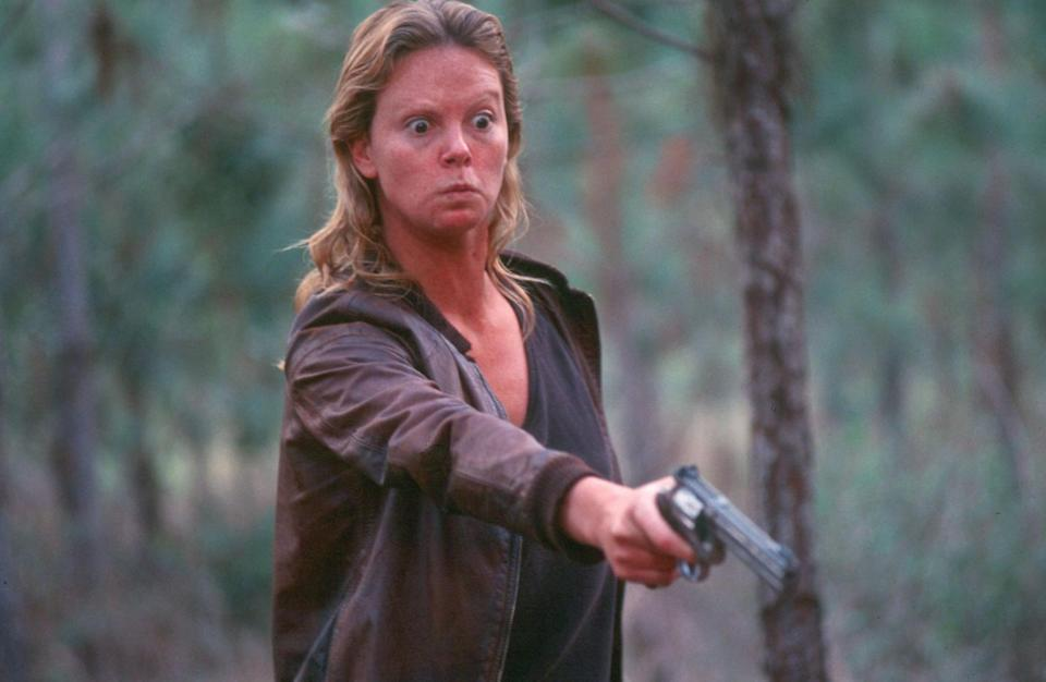 Charlize Theron as Aileen Wuornos in 'Monster'Newmarket Films