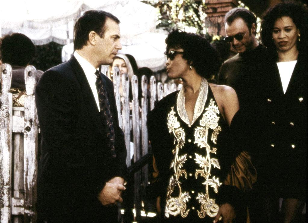 """HIT: <a href=""""http://movies.yahoo.com/movie/contributor/1800019645"""">Whitney Houston</a> and <a href=""""http://movies.yahoo.com/movie/contributor/1800017042"""">Kevin Costner</a>, <a href=""""http://movies.yahoo.com/movie/1800341742/info"""">The Bodyguard</a> He was an A-list movie star with a recent string of hits and two Academy Awards under his belt. She was a multi-platinum pop diva looking to break into the biz. Together, Kevin Costner and Whitney Houston were hoping to take Lawrence Kasdan's script -- which had been written in the '70s as a vehicle for Steve McQueen and Diana Ross -- and turn """"The Bodyguard"""" in to a blockbuster. And that they did; the romantic thriller grossed nearly half a billion dollars worldwide. Despite being unnecessarily thrashed by critics, fans fell in love with the film's passionate performances and best-selling soundtrack."""