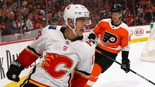 The 25-year-old has been a deadly scorer since his first game in the NHL.