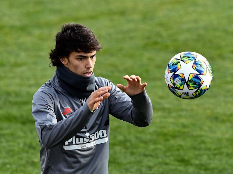 Atletico Madrid's Joao Felix: AFP via Getty Images